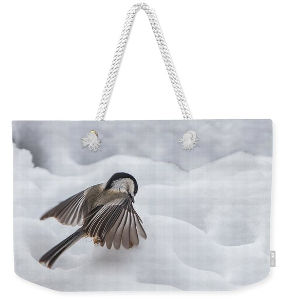 Chickadee - Wings At Work Weekender Tote Bag