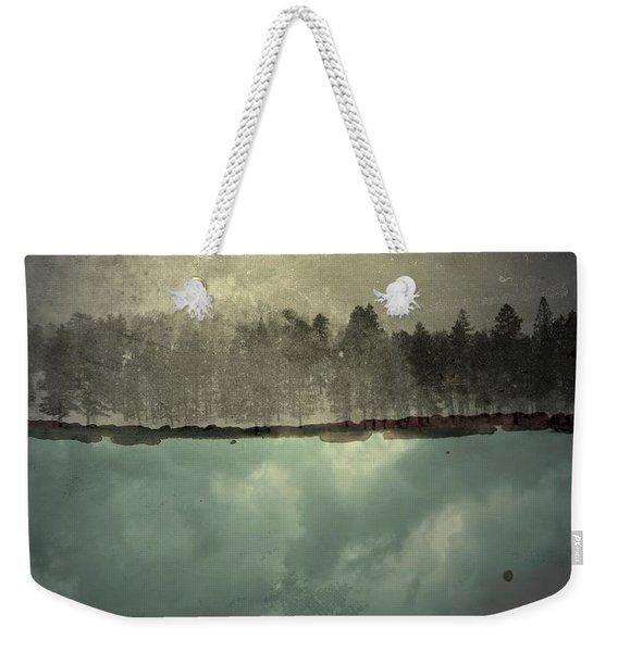 No One Ever Leaves  Weekender Tote Bag