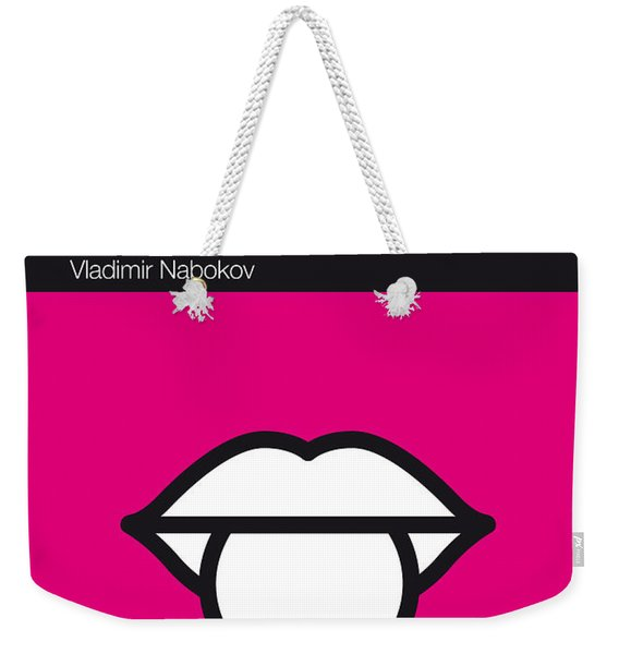 No005 My Lolita Book Icon Poster Weekender Tote Bag