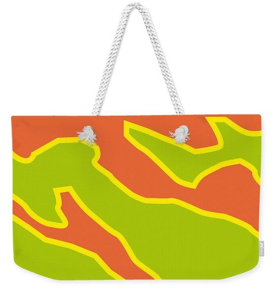 No017 My Fast And Furious Minimal Movie Car Poster Weekender Tote Bag