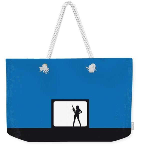 No044 My Jackie Brown Minimal Movie Poster Weekender Tote Bag