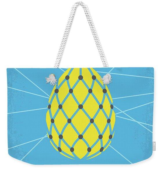 No057 My Oceans 12 Minimal Movie Poster Weekender Tote Bag