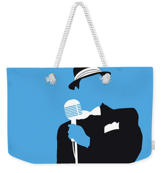 No059 My Sinatra Minimal Music Poster Weekender Tote Bag