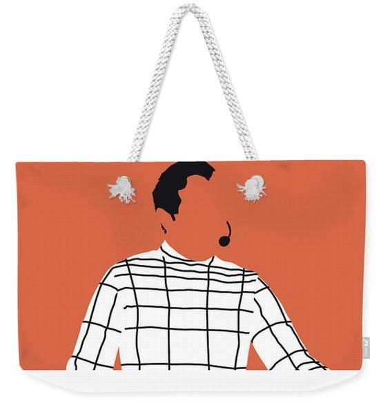 No063 My Kraftwerk Minimal Music Poster Weekender Tote Bag