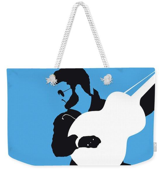 No089 My George Michael Minimal Music Poster Weekender Tote Bag