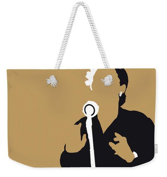 No090 My Billie Holiday Minimal Music Poster Weekender Tote Bag