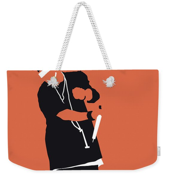 No093 My Nelly Minimal Music Poster Weekender Tote Bag