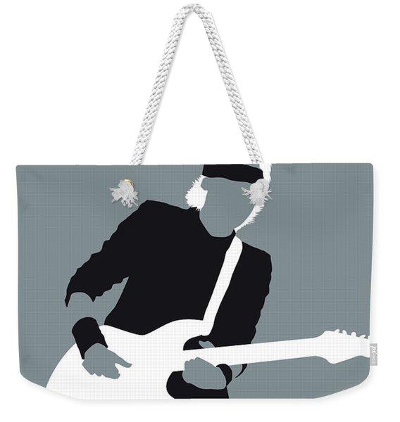 No107 My Mark Knopfler Minimal Music Poster Weekender Tote Bag