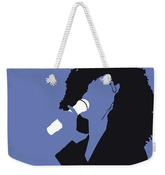 No108 My Whitney Houston Minimal Music Poster Weekender Tote Bag
