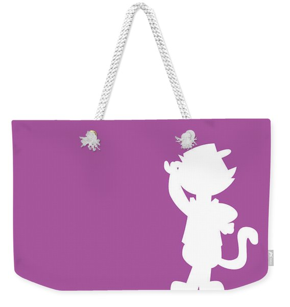 No11 My Minimal Color Code Poster Top Cat Weekender Tote Bag
