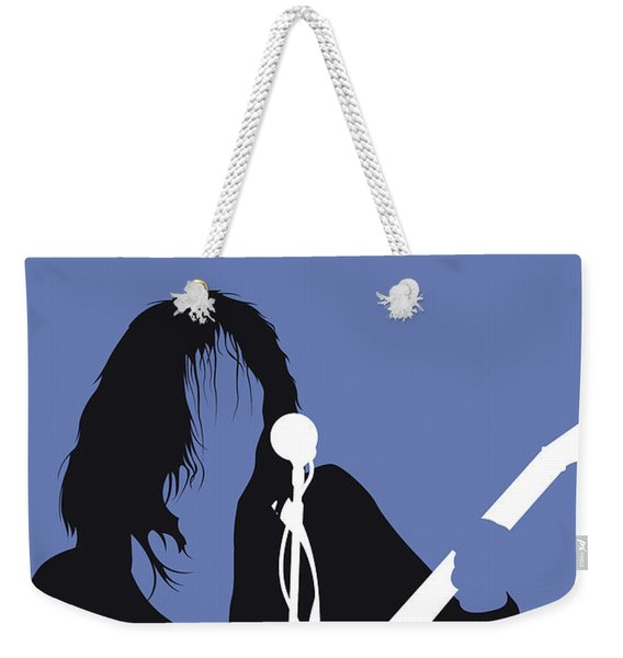 No128 My Neil Young Minimal Music Poster Weekender Tote Bag