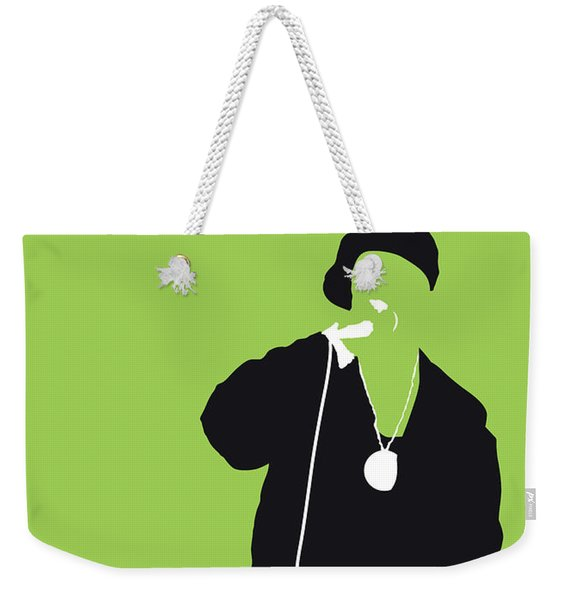 No136 My Ericbandrakim Minimal Music Poster Weekender Tote Bag