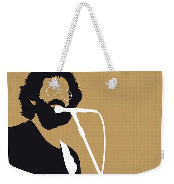 No140 My Grateful Dead Minimal Music Poster Weekender Tote Bag