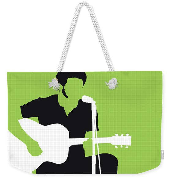 No156 My Bill Withers Minimal Music Poster Weekender Tote Bag
