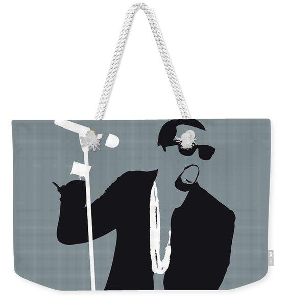 No157 My Kanye West Minimal Music Poster Weekender Tote Bag