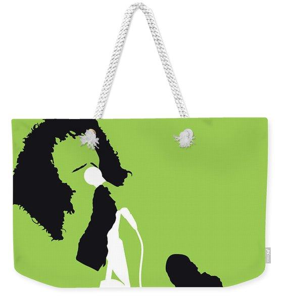 No166 My Rick James Minimal Music Poster Weekender Tote Bag