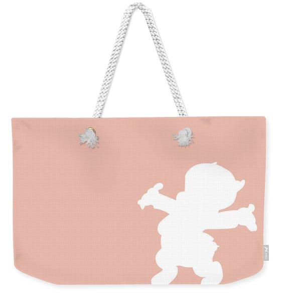 No17 My Minimal Color Code Poster Porky Pig Weekender Tote Bag