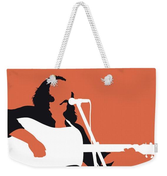 No173 My Crosby Stills And Nash Minimal Music Poster Weekender Tote Bag