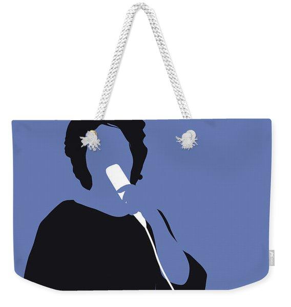 No188 My Aretha Franklin Minimal Music Poster Weekender Tote Bag