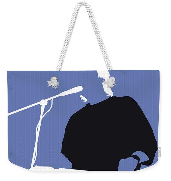No208 My Jeff Healey Minimal Music Poster Weekender Tote Bag