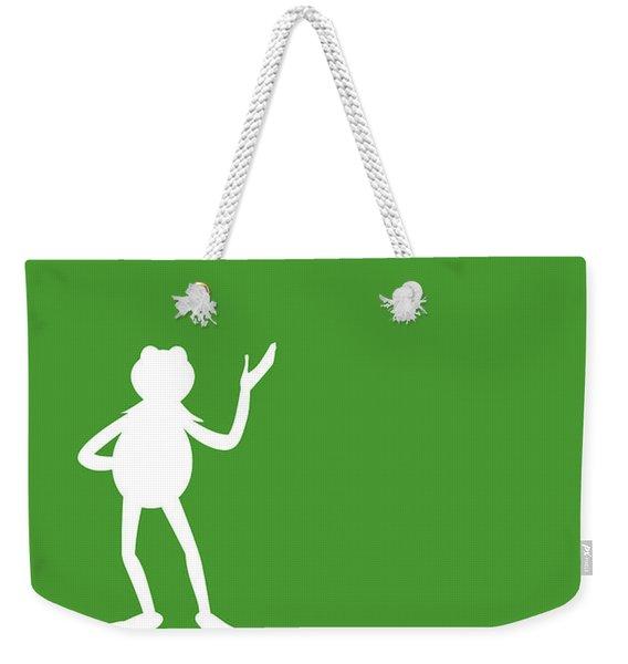 No25 My Minimal Color Code Poster Kermit  Weekender Tote Bag