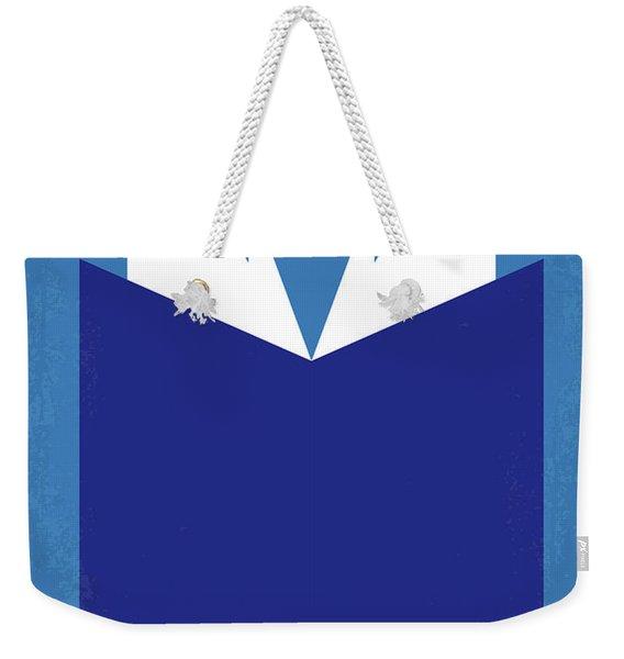 No291 My Matilda Minimal Movie Poster Weekender Tote Bag