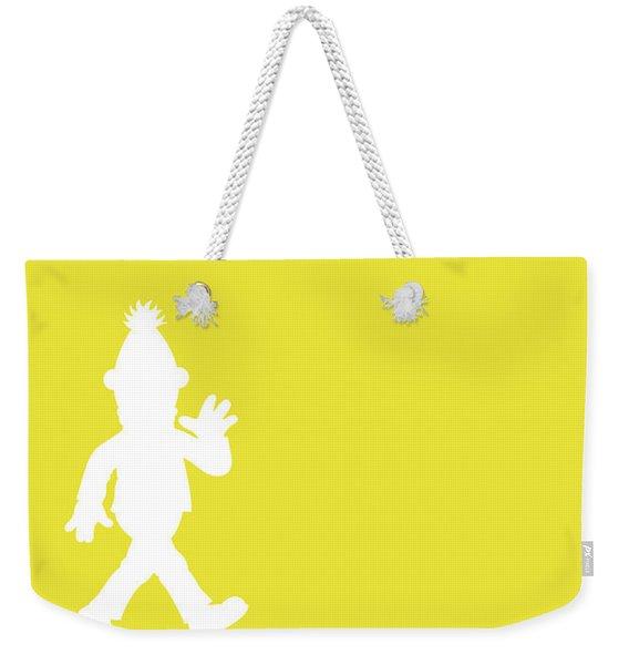 No31 My Minimal Color Code Poster Bert Weekender Tote Bag