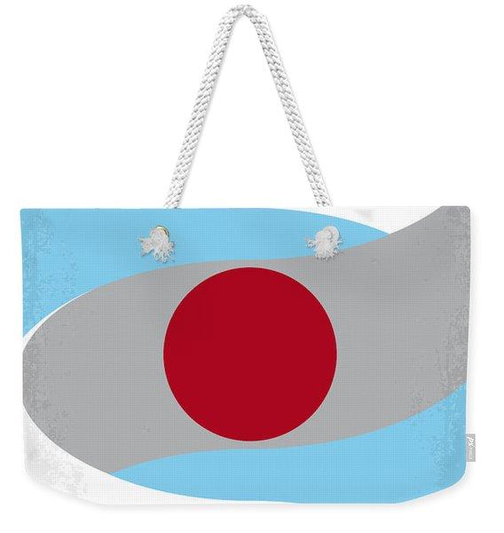 No462 My Minority Report Minimal Movie Poster Weekender Tote Bag