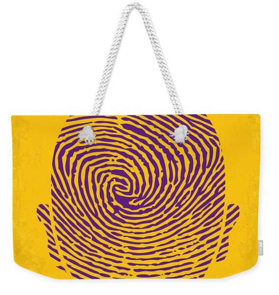 No439 My The Bourne Identity Minimal Movie Poster Weekender Tote Bag