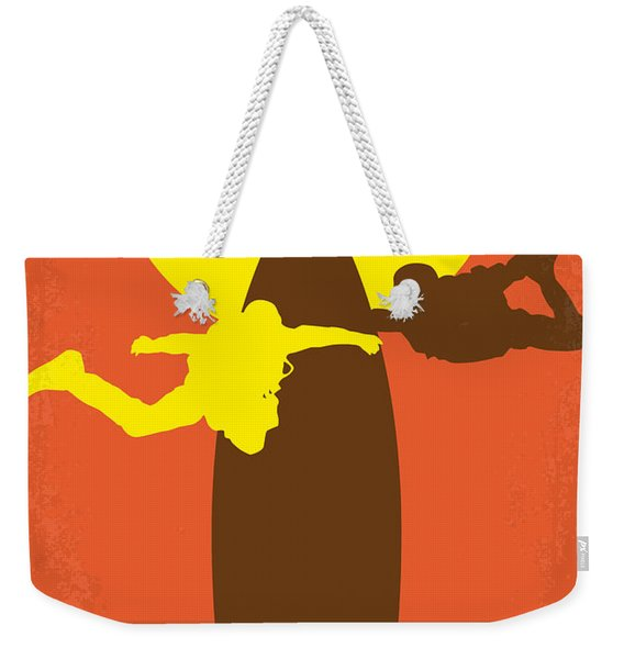 No455 My Point Break Minimal Movie Poster Weekender Tote Bag