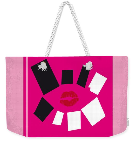 No458 My Mean Girls Minimal Movie Poster Weekender Tote Bag