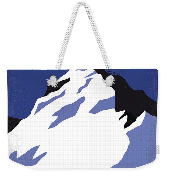 No492 My Everest Minimal Movie Poster Weekender Tote Bag