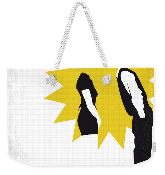 No500 My 500 Days Of Summer Minimal Movie Poster Weekender Tote Bag