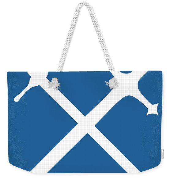 No507 My Braveheart Minimal Movie Poster Weekender Tote Bag