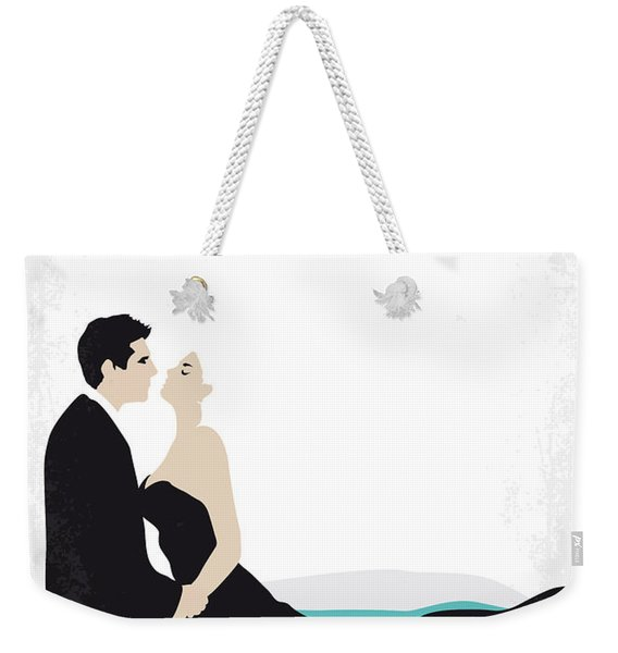 No529 My La Dolce Vita Minimal Movie Poster Weekender Tote Bag