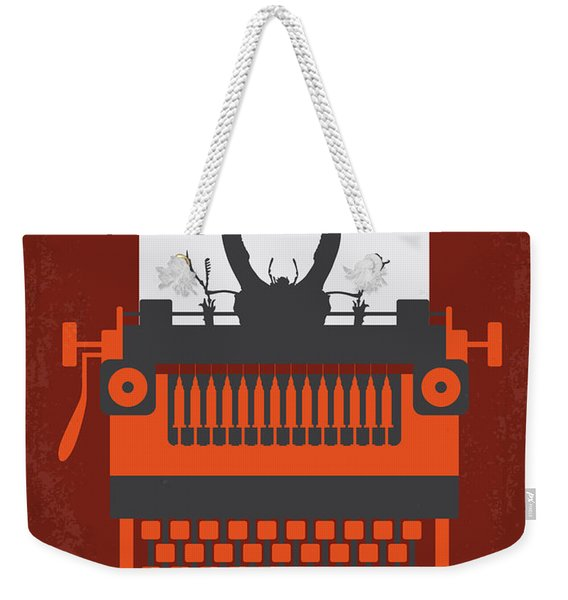 No534 My Naked Lunch Minimal Movie Poster Weekender Tote Bag