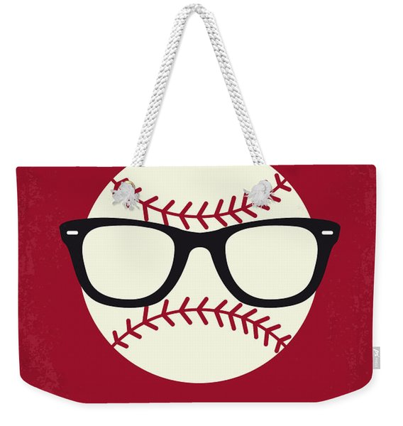 No541 My Major League Minimal Movie Poster Weekender Tote Bag