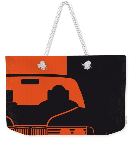 No552 My The Transporter Minimal Movie Poster Weekender Tote Bag