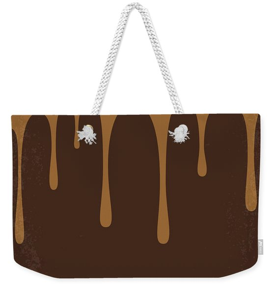 No567 My Chocolat Minimal Movie Poster Weekender Tote Bag