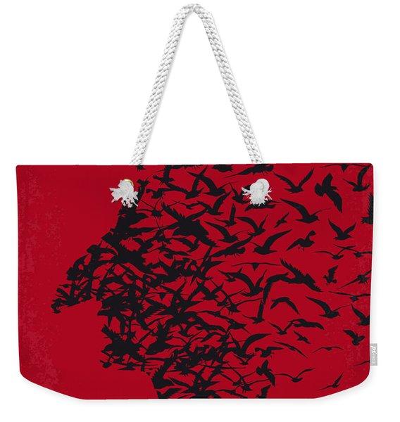 No604 My Birdman Minimal Movie Poster Weekender Tote Bag