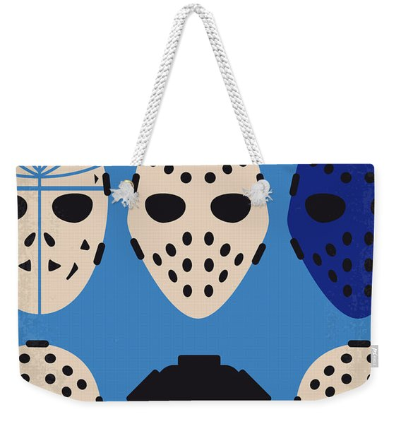 No621 My Heat Minimal Movie Poster Weekender Tote Bag