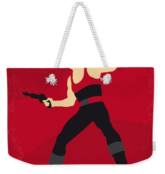 No632 My Flash Gordon Minimal Movie Poster Weekender Tote Bag