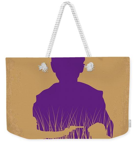 No636 My Looper Minimal Movie Poster Weekender Tote Bag