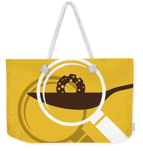 No641 My Honey I Shrunk The Kids Minimal Movie Poster Weekender Tote Bag