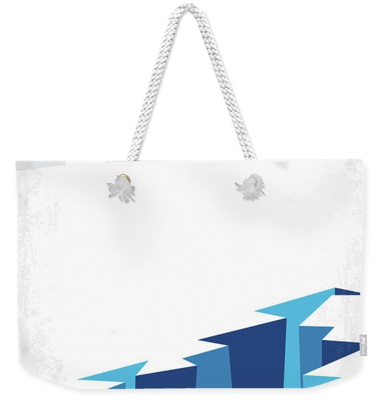 No651 My The Day After Tomorrow Minimal Movie Poster Weekender Tote Bag