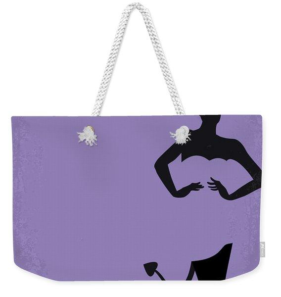 No661 My The Devil Wears Prada Minimal Movie Poster Weekender Tote Bag