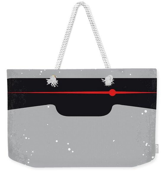 No663 My Battlestar Galactica Minimal Movie Poster Weekender Tote Bag