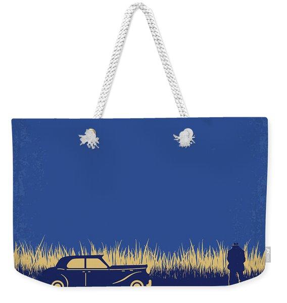 No686-1 My Godfather I Minimal Movie Poster Weekender Tote Bag