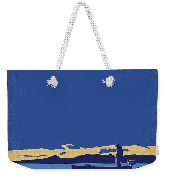 No686-2 My Godfather II Minimal Movie Poster Weekender Tote Bag