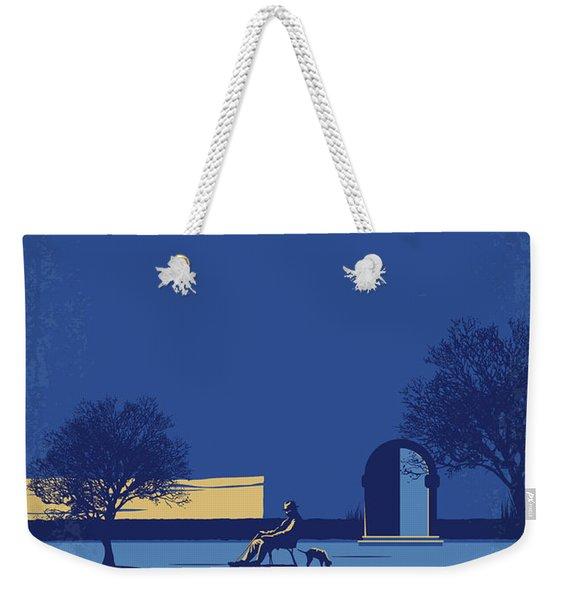 No686-3 My Godfather IIi Minimal Movie Poster Weekender Tote Bag